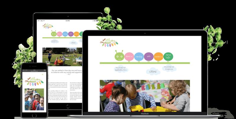 PINQ web design portfolio